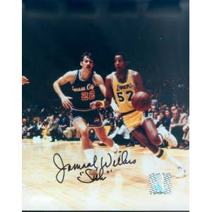 "8"" X 10"" Autographed Photo - Los Angeles Lakers, Jamaal Wilkes"